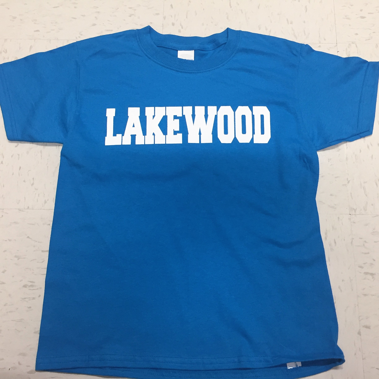 Lakewood Block T-Shirt - AQUA